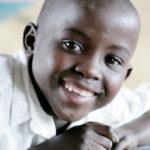 Barn i skolen i Mukono i Uganda