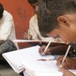 Børn på børnehjemmet V. Sithur i Indien