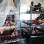 Sovesal på børnehjemmet ved Kakundi-skolen