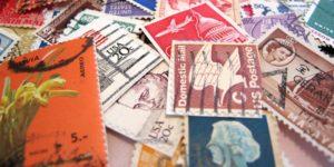 Brugte frimærker - af Katey via flickr