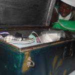Kuffert til personlige ejendele