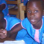 Børn i Madera-skolen i Uganda
