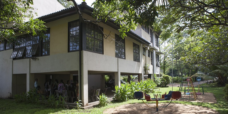 Døveskolen ved Colombo i Sri Lanka