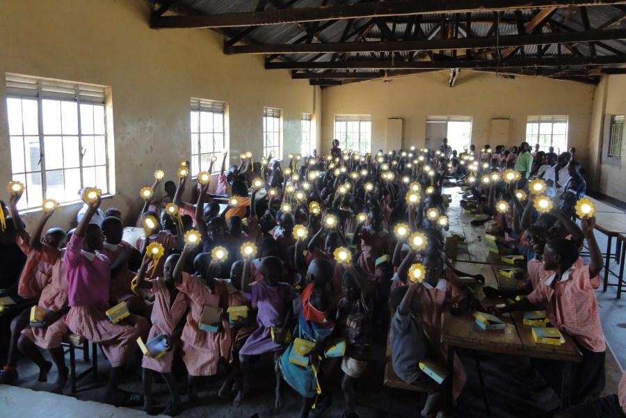 Børn i Mukono-skolen