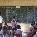 Undervisning på Kakundi-skolen i Uganda