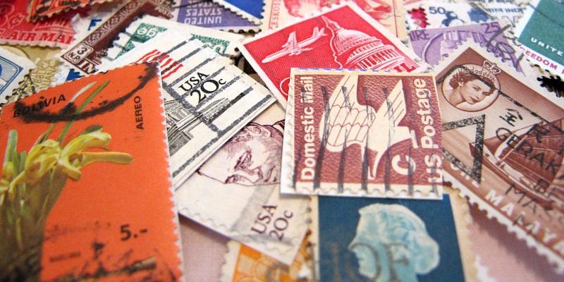 Send os brugte frimærker