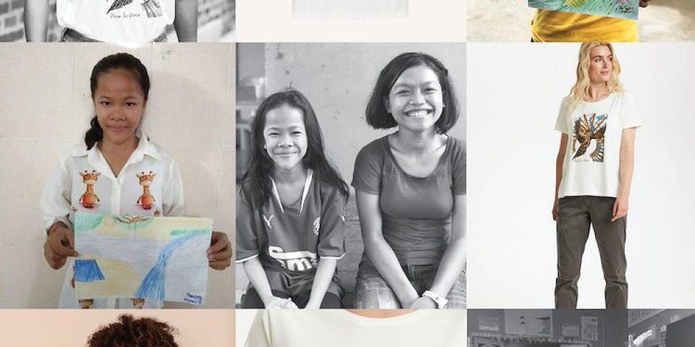 Samarbejdet mellem Bright Hope Cambodia og tøjmærket Cream