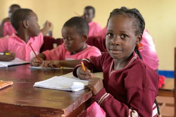 Skolebørn fra Entebbe